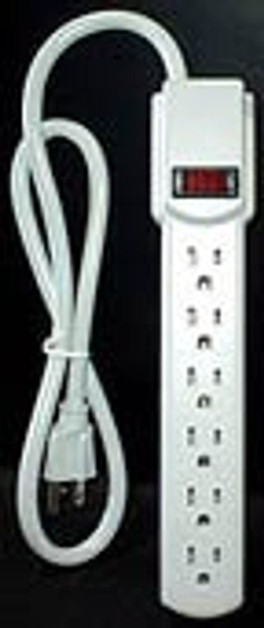 6 Outlet Power Strip UL