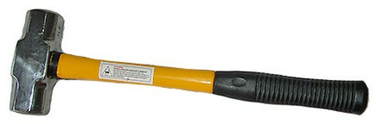 3 Lb. Sledge Hammer w/ Short Fiberglass Handle