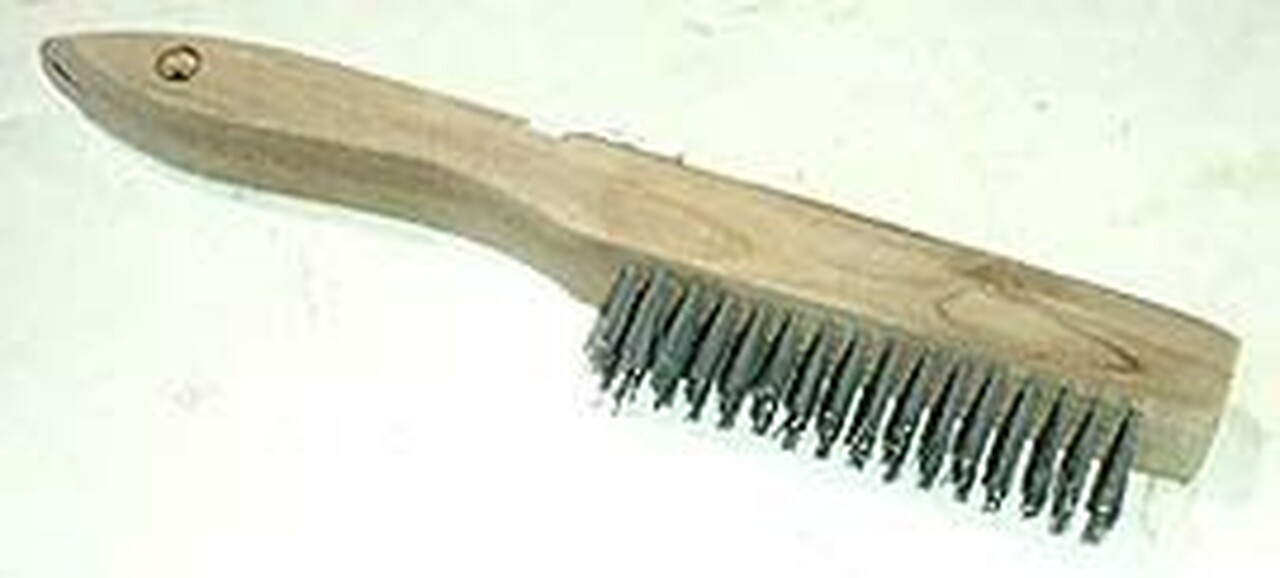 10 inch Shoe Handle Wire Brush