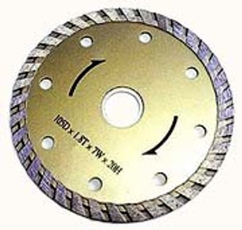 7 inch Diamond Wet Or Dry Cutting Blade