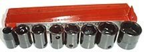 9 Pc 3/8 inch Dr. Shallow Impact Socket Set - Metric