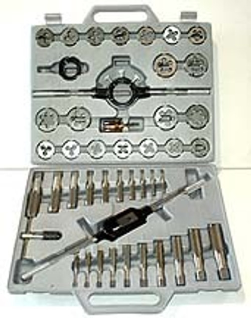 45 Pc Heavy Duty Tap & Die Set