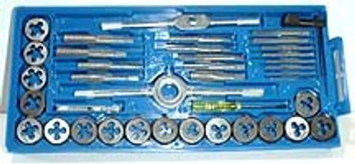 40 Pc Heavy Duty Tap & Die Set