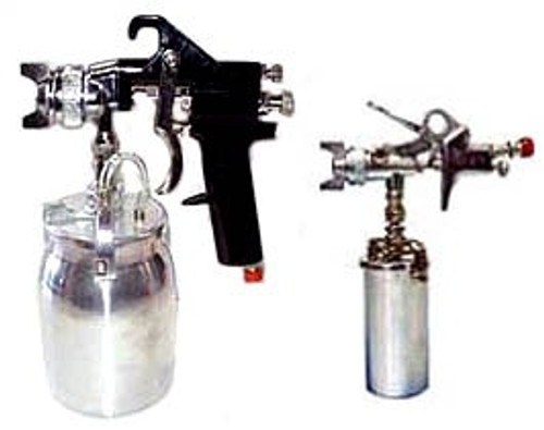 2 Pc Air Spray Gun & Touch Up Gun Set