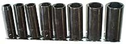 9 Pc 3/8 inch Dr. Deep Impact Socket Set - SAE