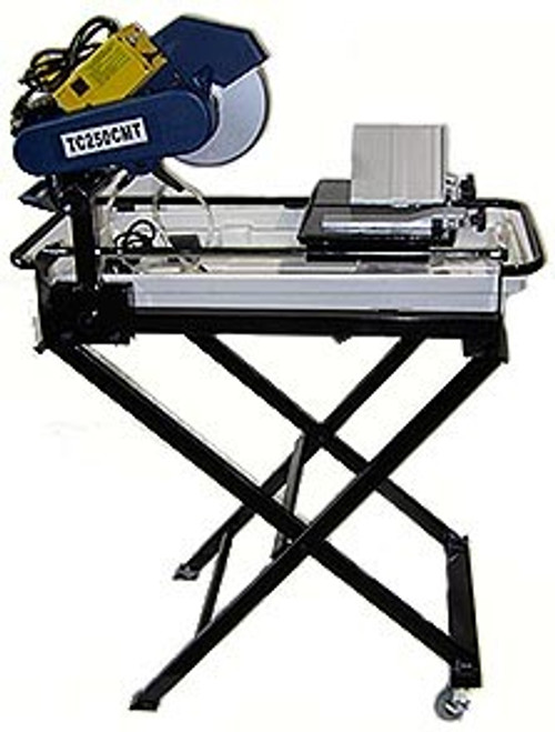 10 inch Heavy Duty Tile - Granite - Marble Saw w/ Stand