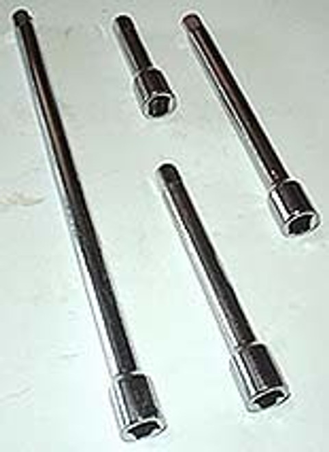 4 Pc 1/2 inch Extension Bar Set