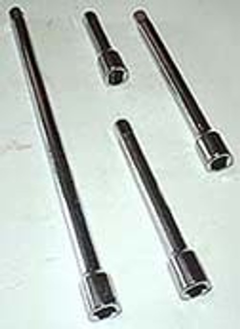 4 Pc 1/4 inch Extension Bar Set