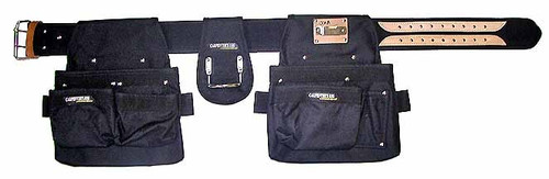 Carpenters Rig - Nylon Double Pouch #001-A