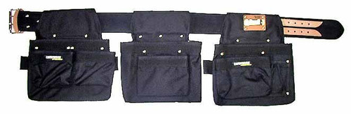 Carpenters Rig - Nylon Triple Pouch #001-B