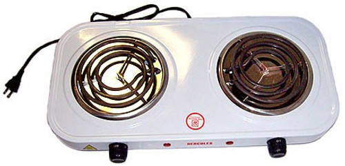 2000 Watt Electric Double Burner
