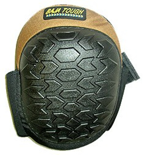 Non-Scuff Nylon Knee Pads - Brown