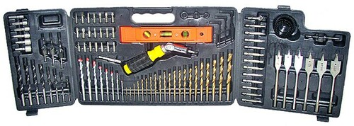 100 Pc Power Drill & Bits Set