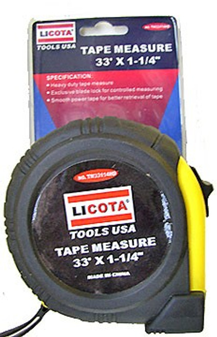 33 ft x 1-1/4 inch Measuring Tape