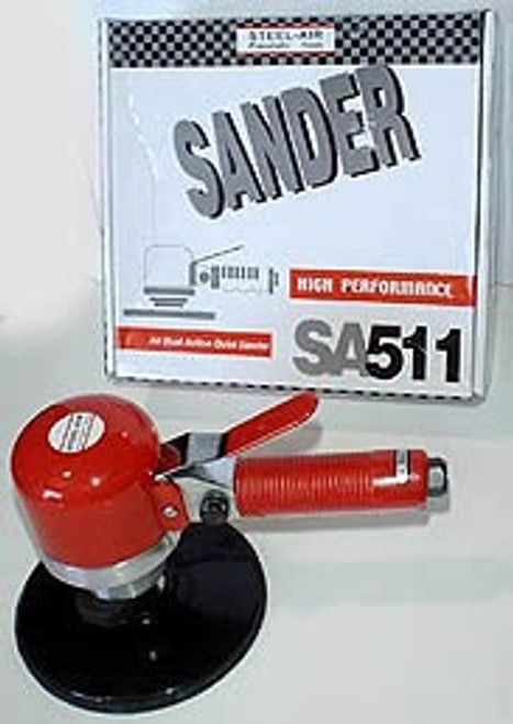 STEEL AIR 6 inch Air Dual Action Sander #SA511