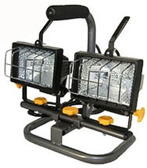 Twin 150 Watts Halogen Work Lights
