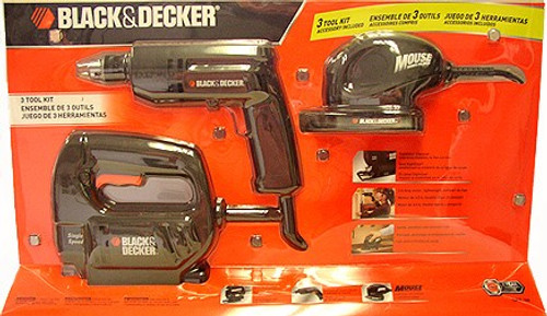 BLACK & DECKER 3 Pc Electric Tool Kit #OPP-3H
