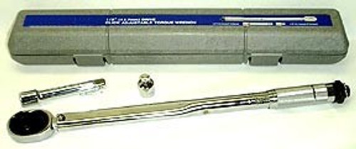 1/2 inch Torque Wrench Kit - Click Type (10 to 150 ft/lb)