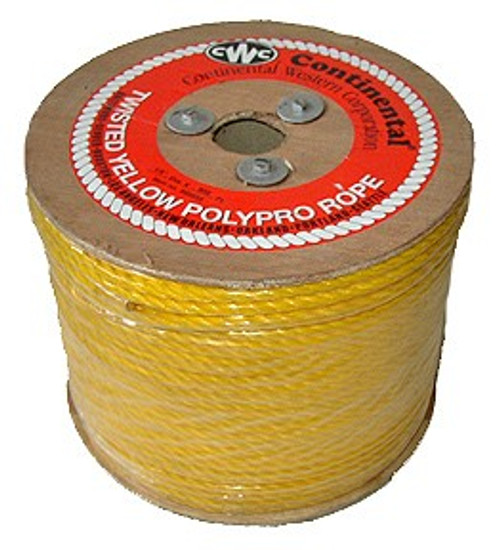 1/4 inch x 1200 Ft. Polypropylene Rope