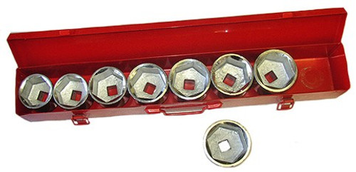 9 Pc 3/4 inch Dr. SAE Add-On Socket Set