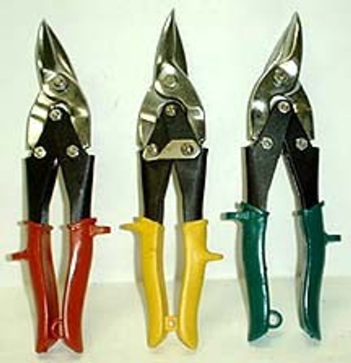 3 Pc Aviation Tin Snip Set