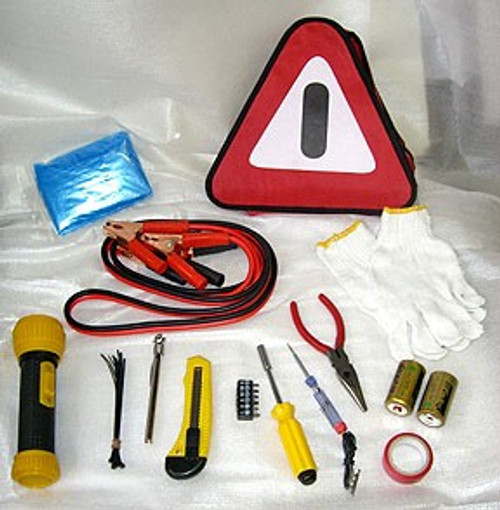 29 Pc Roadside Emergency Kit