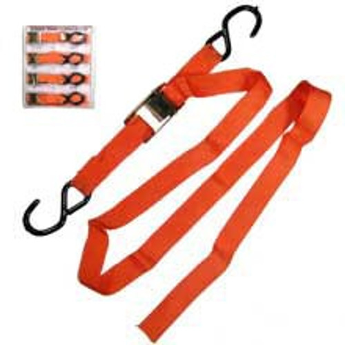 4 Pc Buckle Tie Downs