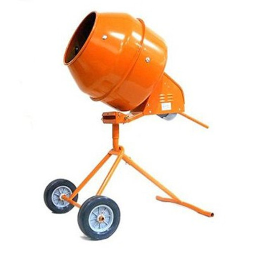 5 Cu. Ft. Tripod Electric Cement Mixer