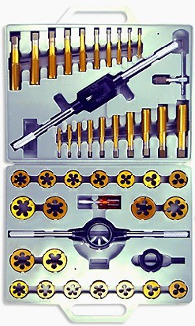 45 Pc Titanium Tap and Die Set