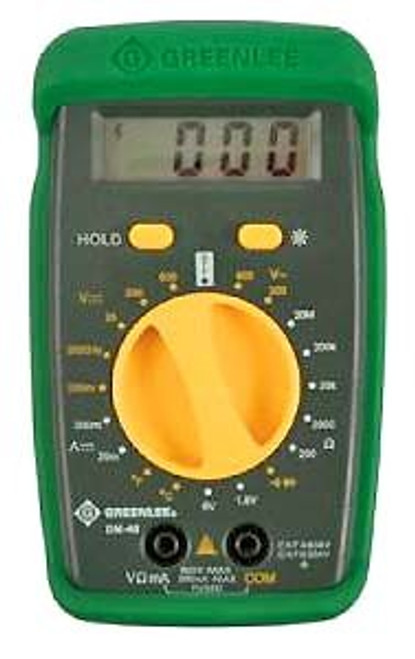 GREENLEE Digital Multimeter #DM-40