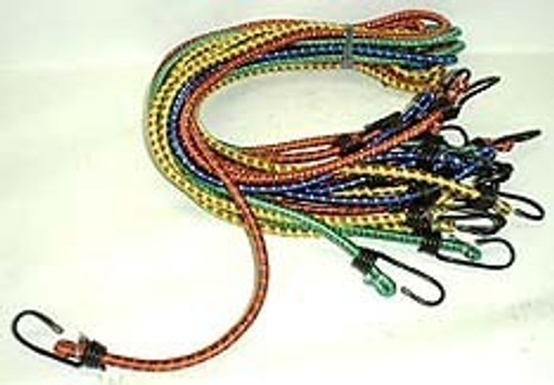 10 Pc 24 Inch Bungee Cords
