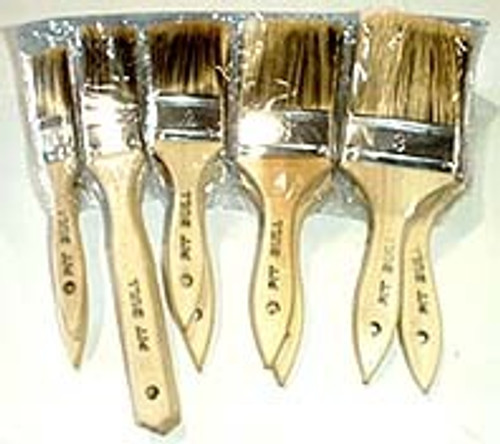 10 Pc Heavy Duty Paint Brush Set