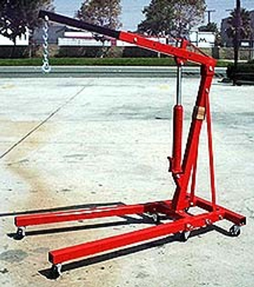 2 Ton Folding Engine Hoist / Cherry Picker