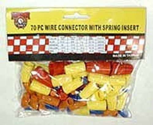70 Pc Wire Connector Assortment