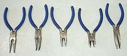 5 Pc Mini Plier Set