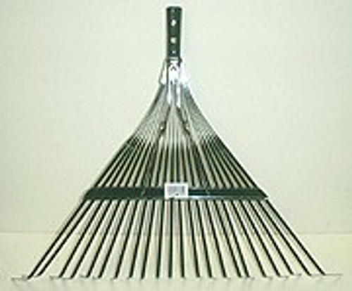 Spring Rake w/ 48 inch Wooden Handle - 24 Pc