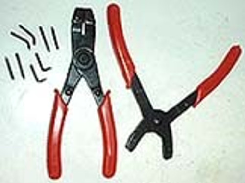 2 Pc Snap Ring Plier Set