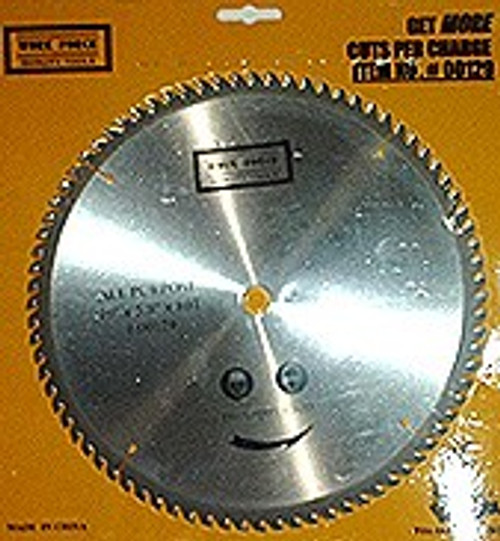 10 inch x 80 CIrcular Tooth Saw Blade