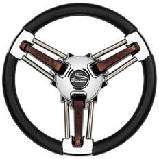 Schmitt  Ongaro Burano Wheel - 14 Black Polyrethane - 3/4 Tapered Hub
