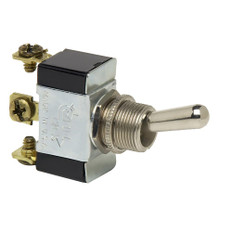 Cole Hersee Heavy Duty Toggle Switch SPDT (On)-Off-(On) 3 Screw