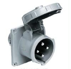 Hubbell M4100B12R 100A 125/250V Inlet