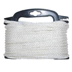 Attwood Braided Nylon Rope - 3/16 x 100' - White