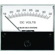 Blue Sea 8240 DC Analog Voltmeter - 2-3/4 Face, 18-32 Volts DC