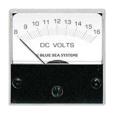 Blue Sea 8028 DC Analog Micro Voltmeter - 2 Face, 8-16 Volts DC