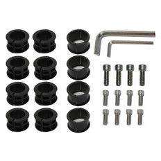 SurfStow SUPRAX Parts Kit - 12-Bolts, 3 Sizes of Inserts, 2-Allen Wrenches