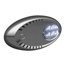 Attwood LED Docking Lights - Stainless Steel - White LED - Pair