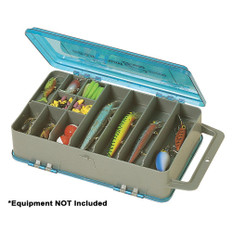 Plano Double-Sided Tackle Organizer Medium - Silver/Blue