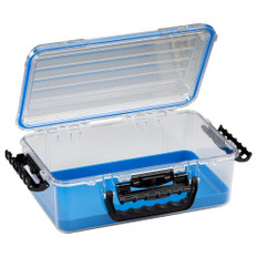 Plano Guide Series Waterproof Case 3700 - Blue/Clear
