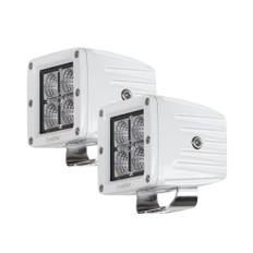 HEISE 4 LED Marine Cube Light w/Harness - 3 - 2 Pack