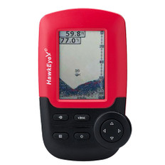 HawkEye FishTrax 1C Handheld Fish Finder w/HD Color VirtuView Display